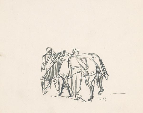 Jaroslav Vodrážka - Muž s koňmi