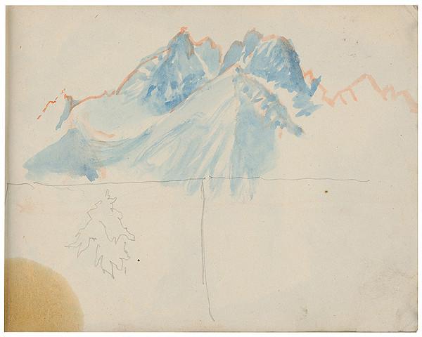 Margita Czóbelová – Náčrt horských štítov