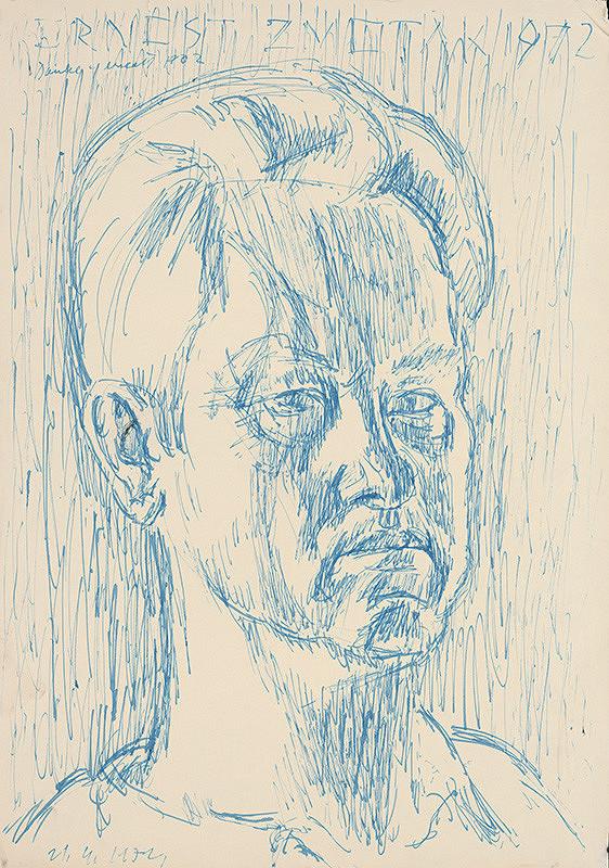 Ernest Zmeták – Autoportrét II.