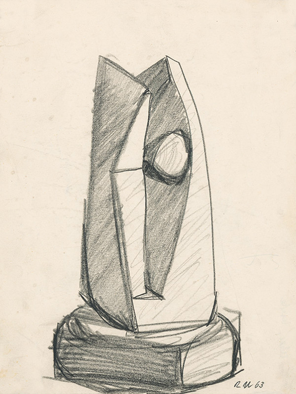 Rudolf Uher - Tvarová štúdia X.