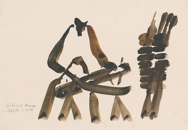 Miroslav Ksandr – Pílenie dreva