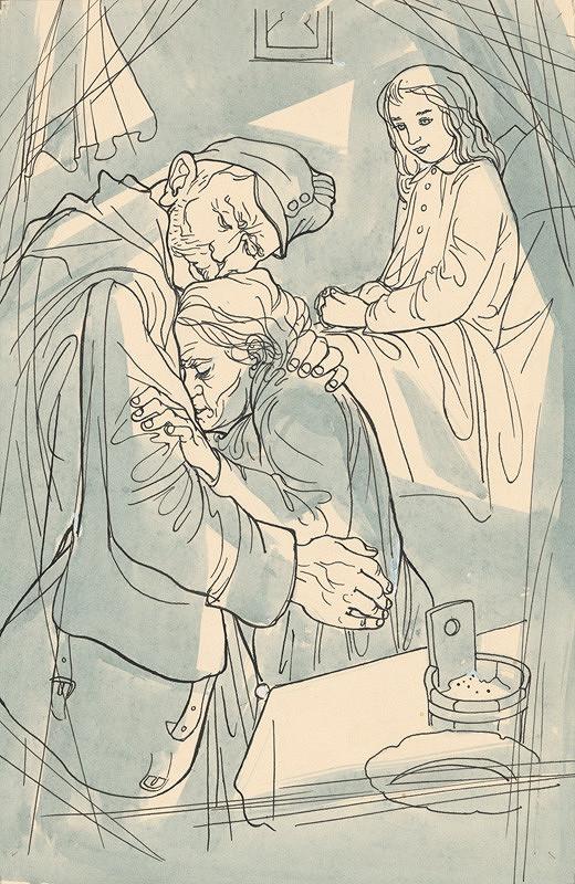 Imrich Weiner-Kráľ - Objatie