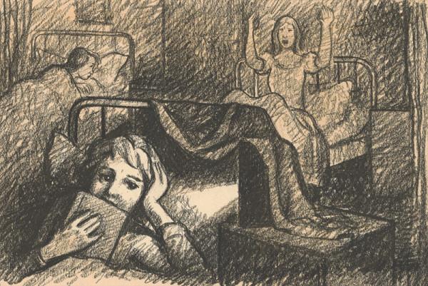 Imrich Weiner-Kráľ – Dievčatá v internátnej izbe