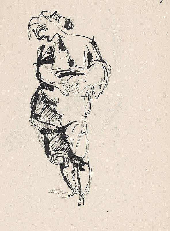 Július Lőrincz – 67. Vojna II. - Žena s rukami na bruchu