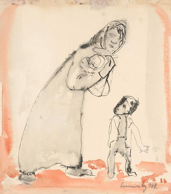 Ladislav Čemický – Matka s dieťaťom
