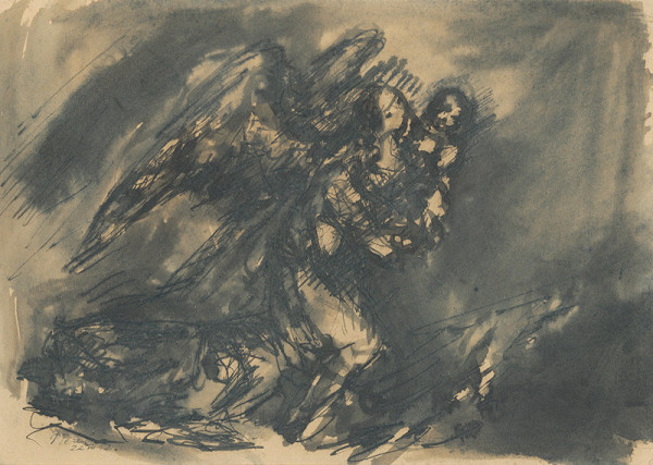 Teodor Tekel – Anjel s dieťaťom