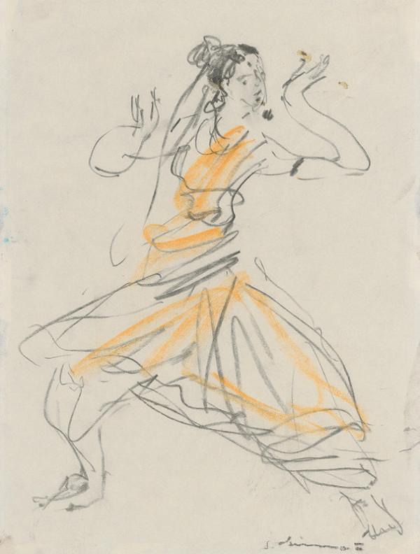 Sibylla Greinerová – Motív z indického tanca II.