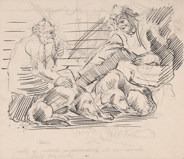 Arnold Peter Weisz-Kubínčan – Muži a psy