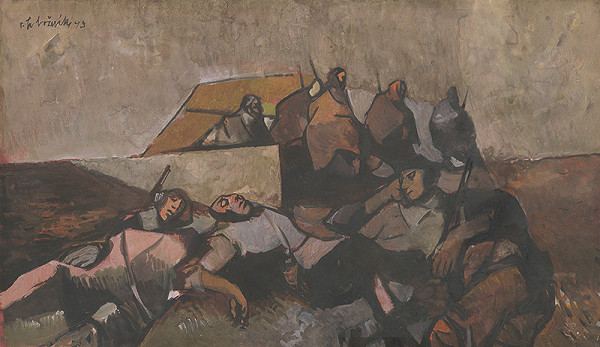 Vincent Hložník – Odpočinok partizánov