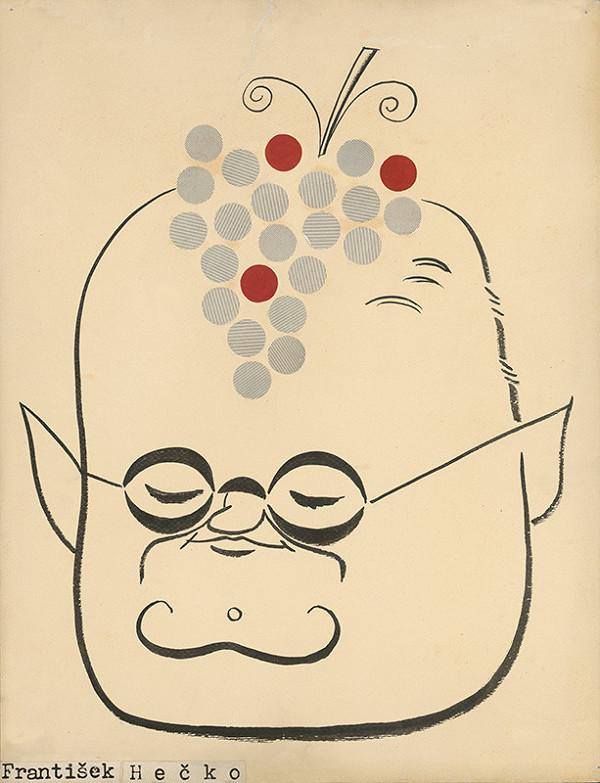 Alexander Richter – Karikatúra Františka Hečku