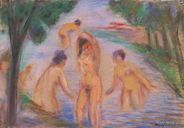 Ján Mudroch – Kúpajúce sa ženy