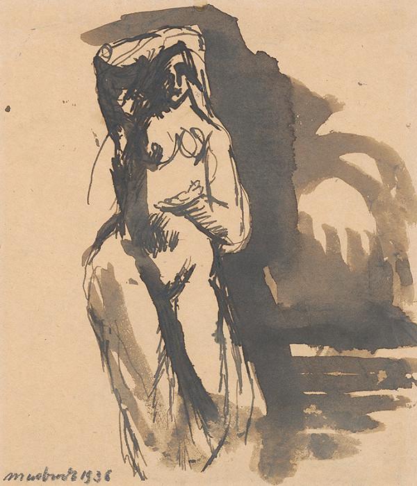 Ján Mudroch - Štúdia ženského aktu