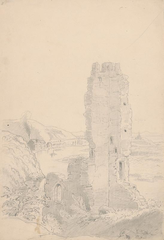 Friedrich Carl von Scheidlin – Zrúcanina hradu