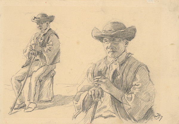Jaroslav Augusta – Dve štúdie chlapca