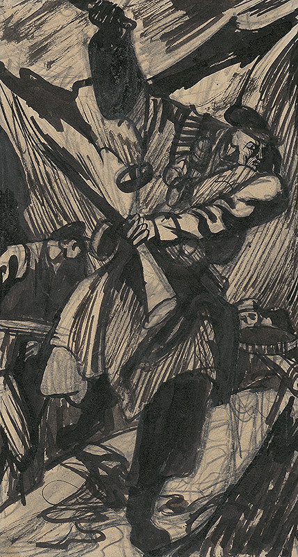 Ján Novák – Povstanie