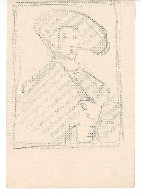 Ernest Špitz – Mužský portrét