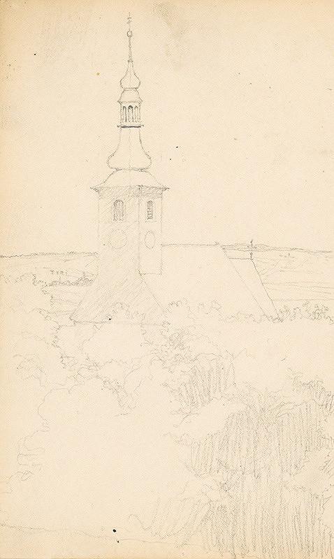 Ivan Žabota – Krajina s kostolom