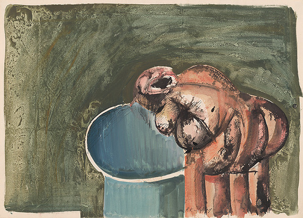 Rudolf Krivoš – Toaleta