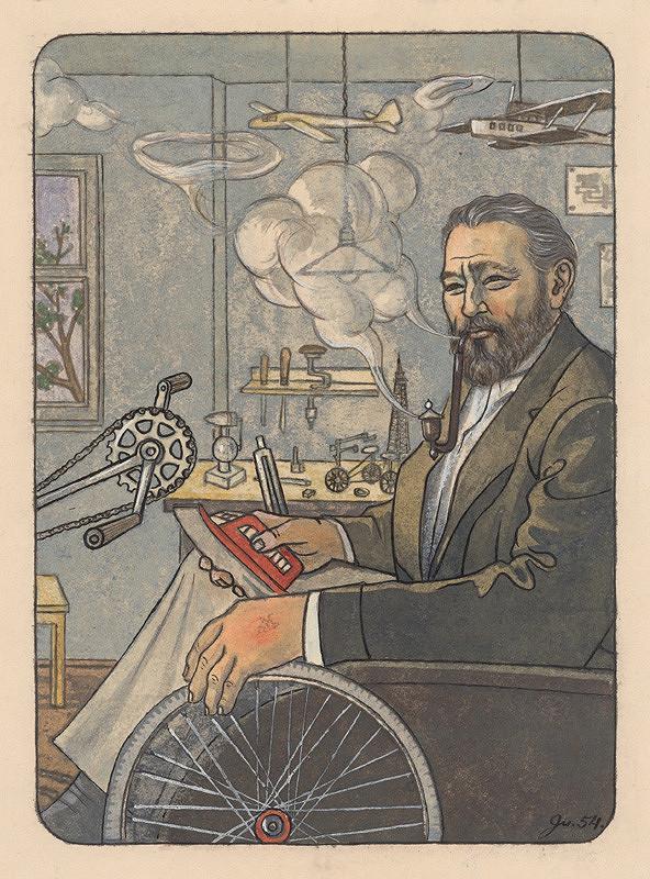 Ladislav Guderna - Muž v kolečkovom kresle