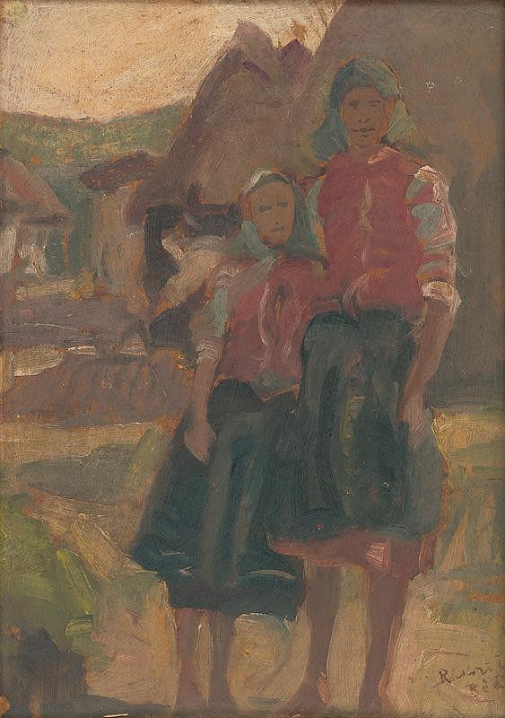 Ernest Rákosi – Dievčatká