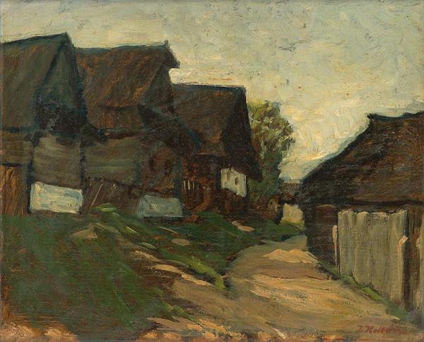 Jozef Kollár - Domky v Heľpe