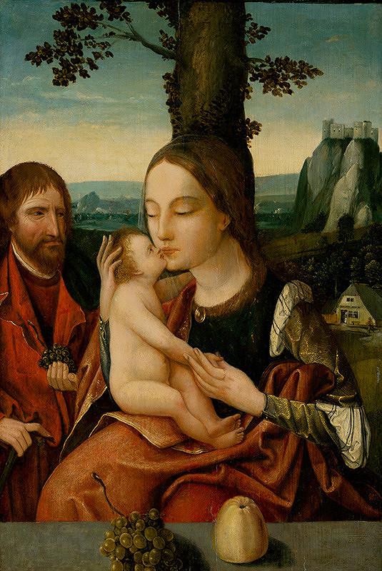 Antverpský maliar, Nizozemský maliar z 1. polovice 16. storočia - Svätá rodina
