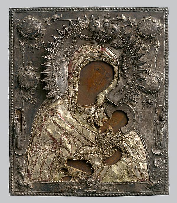 Ruský ikonopisec – Madona s dieťaťom