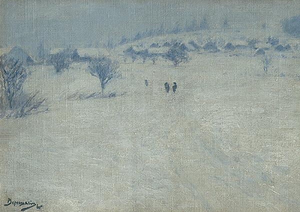 Vasilij Vasiljevič Vereščagin – Zimná krajinka