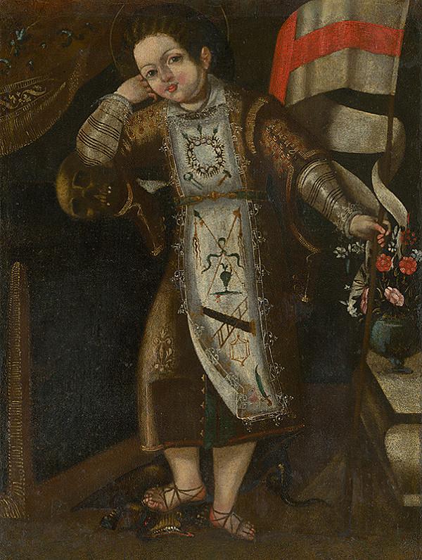 Španielsky maliar zo 17. - 18. storočia, Stredoeurópsky maliar zo 17. - 18. storočia - Alegória Vzkriesenia