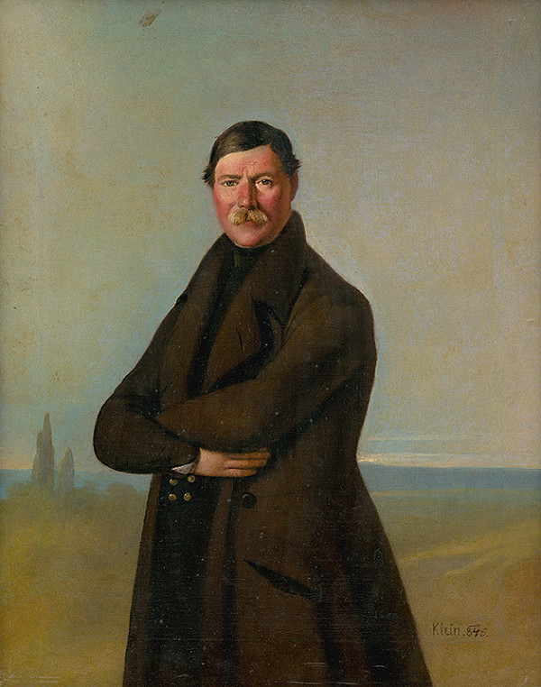 Johann Adam Klein – Podobizeň maďarského statkára
