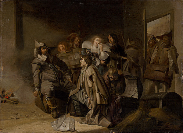 Pieter Jacobs Codde – Výsluch zajatca