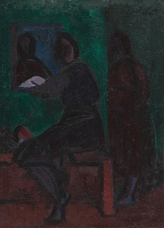Ján Želibský - Pri okne