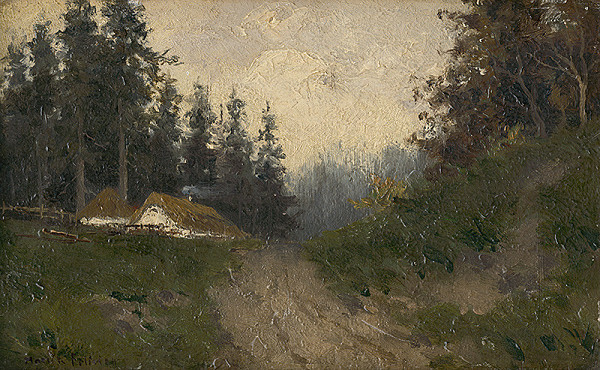 Felicián Moczik – Chalupy v lese