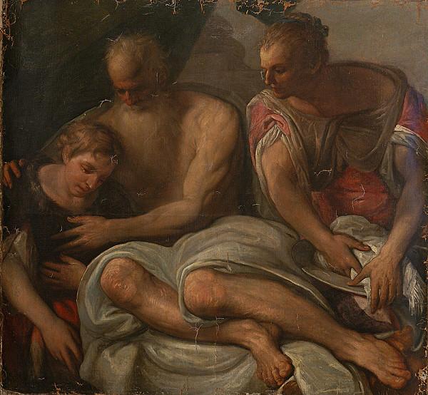 Benátsky maliar zo 16. storočia, Taliansky maliar zo 16. storočia - Náboženský výjav