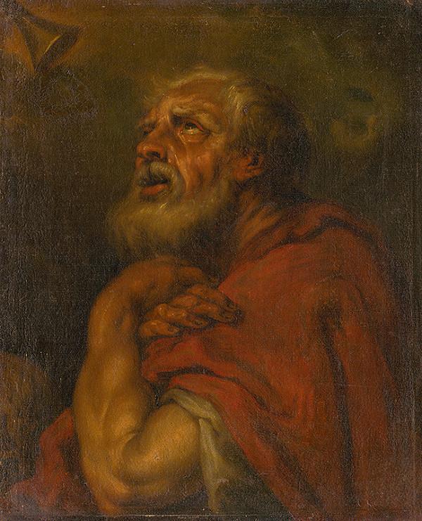 Taliansky maliar zo 16. - 17. storočia - Hlava apoštola