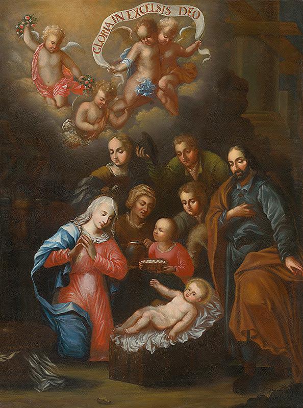 Slovenský maliar z konca 18. storočia, Neznámy maliar – Adorácia Ježiška