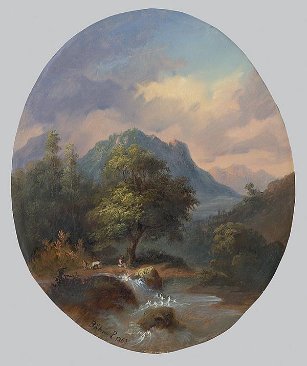 Pál Böhm – Tatranská krajina