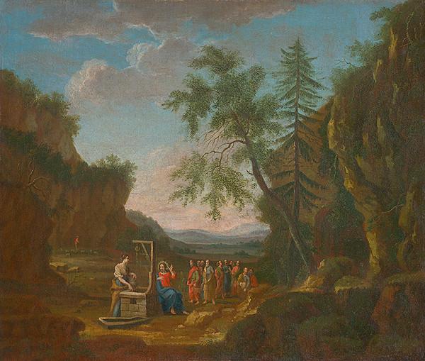 Stredoeurópsky maliar - Kristus pri studni
