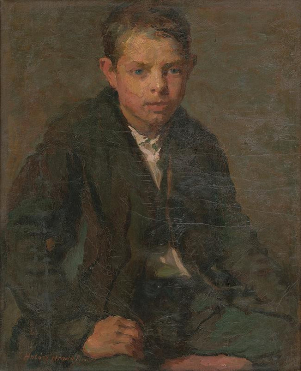 Elemír Halász-Hradil – Podobizeň robotníckeho chlapca