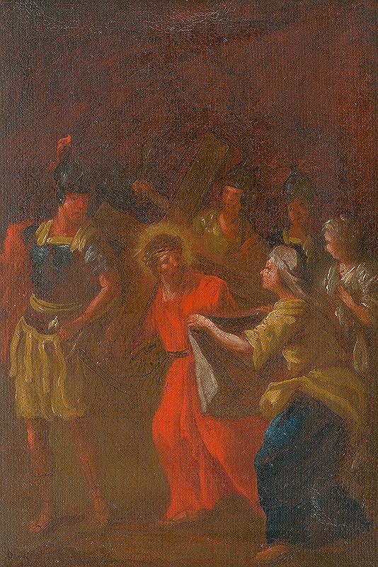 Štefan Schaller, Slovenský maliar z 3. tretiny 18. storočia - Veronika podáva Ježišovi šatku. Štúdia ku Kríž.ceste VI.