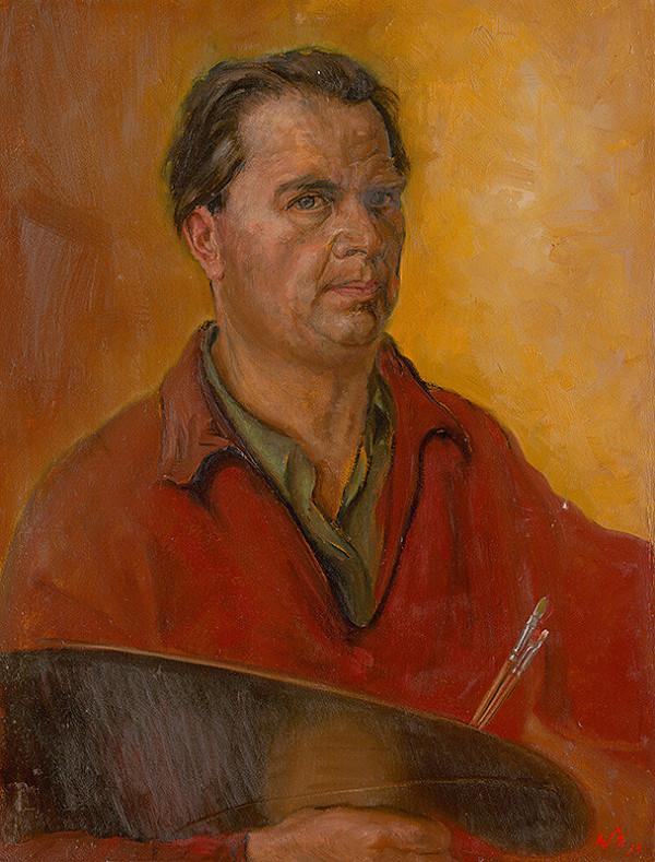 Ladislav Székely – Autoportrét