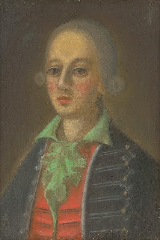 Slovenský maliar z 18. storočia, Neznámy maliar – Podobizeň mladého zemana