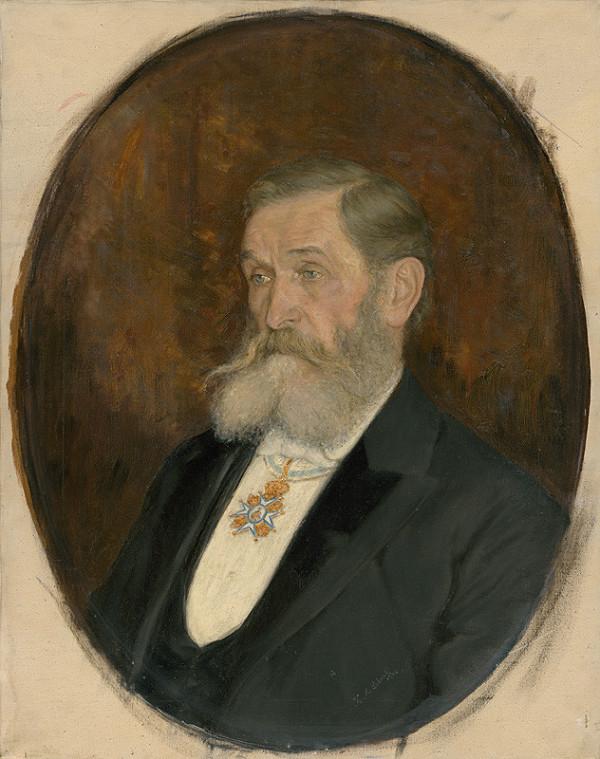 Karol Miloslav Lehotský - Podobizeň S.H.Vajanského