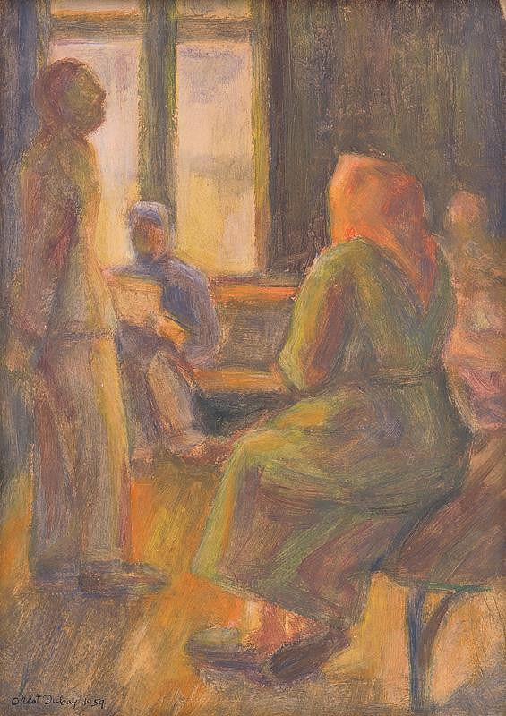 Orest Dubay - V čakárni