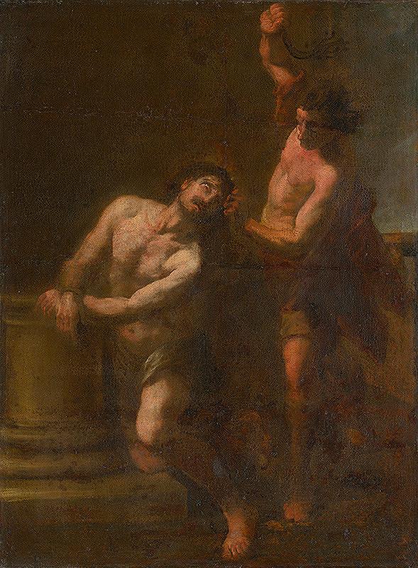 Taliansky maliar okolo roku 1700 – Bičovanie Krista