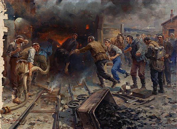 Richard Paulus – Banská katastrofa
