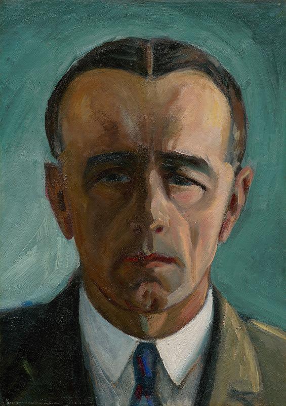 Anton Jasusch – Autoportrét