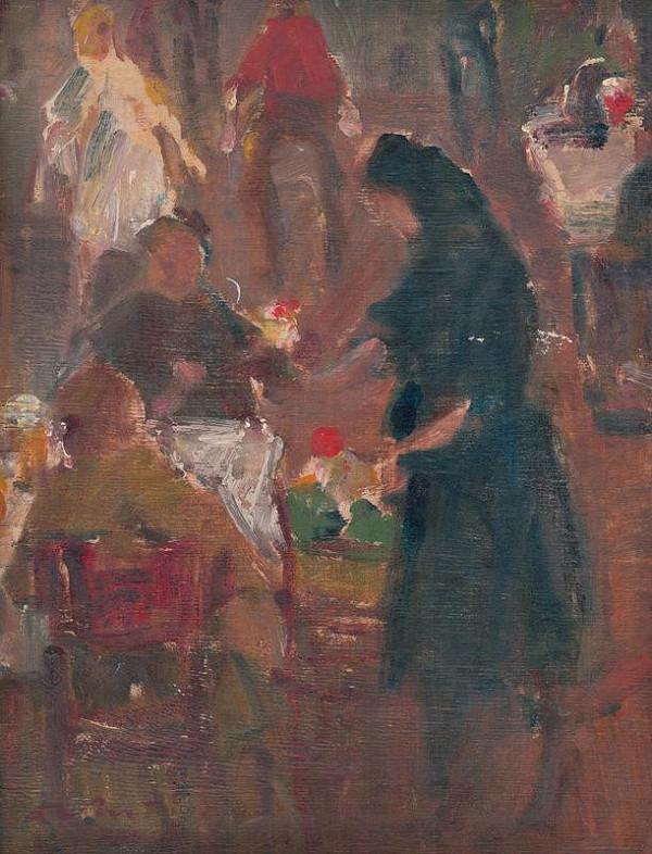 Andrej Doboš – Predavačka kvetín