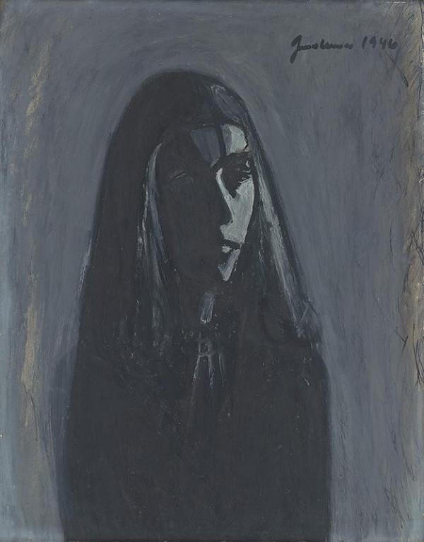 Ladislav Guderna – Portrét dievčaťa