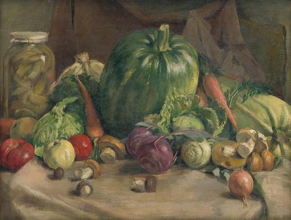 Ladislav Treskoň - Zátišie so zeleninou